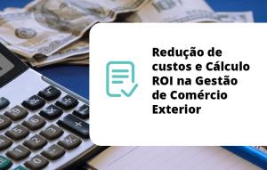 Redução de custos e Cálculo ROI na Gestão de Comércio Exterior