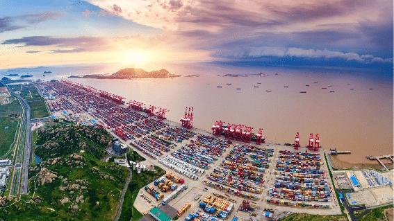Maior porto do mundo