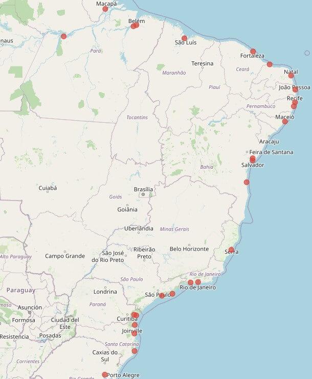 portos no brasil