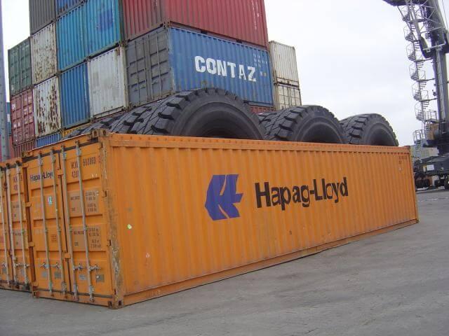 tipos de container open top