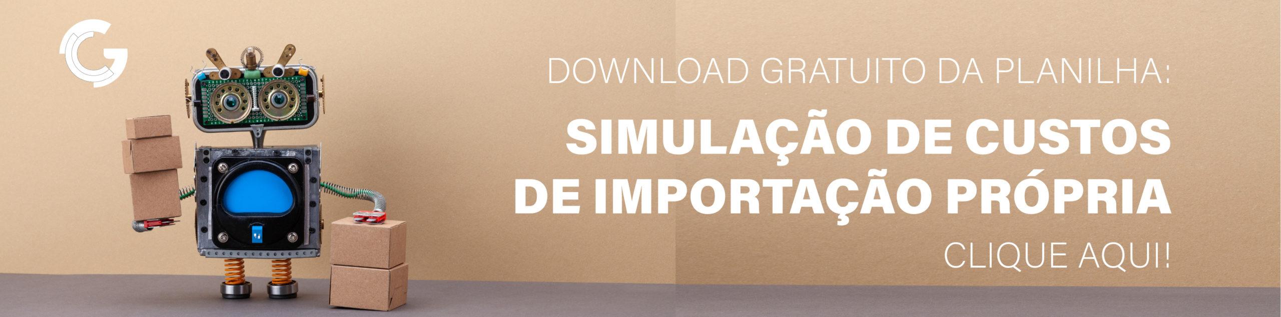 baixar simulação custos importação grátis